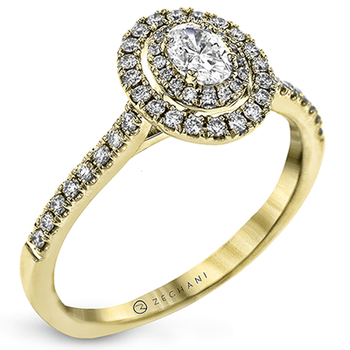 ZR1869-Y ENGAGEMENT RING