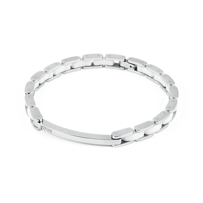 Brosway 316L stainless steel, ceramic and crystals Swarovski® Elements