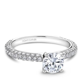 Noam Carver Vintage Engagement Ring B054-01A