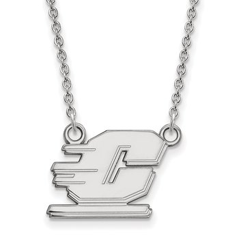 Sterling Silver Central Michigan University NCAA Necklace