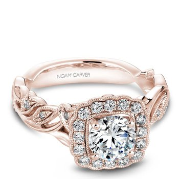 Noam Carver Vintage Engagement Ring B075-01RA