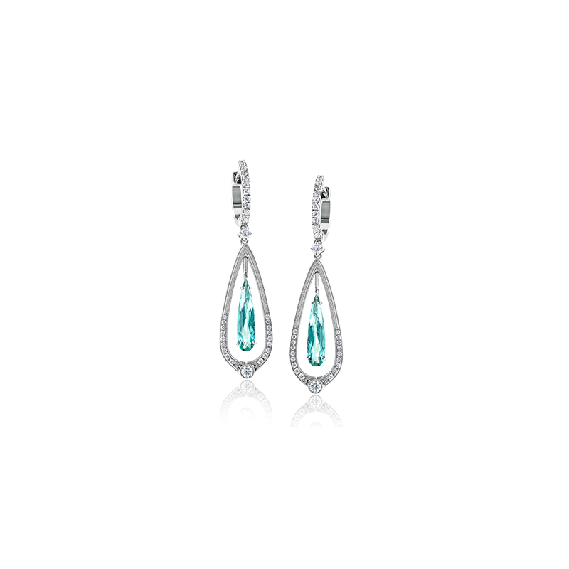 Simon G ME1914-A COLOR EARRING