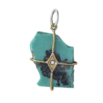 Touchstones - Divine Honor Turquoise Talisman