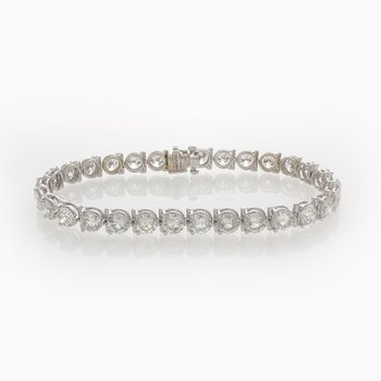 BRILLIANT CUT TENNIS BRACELET