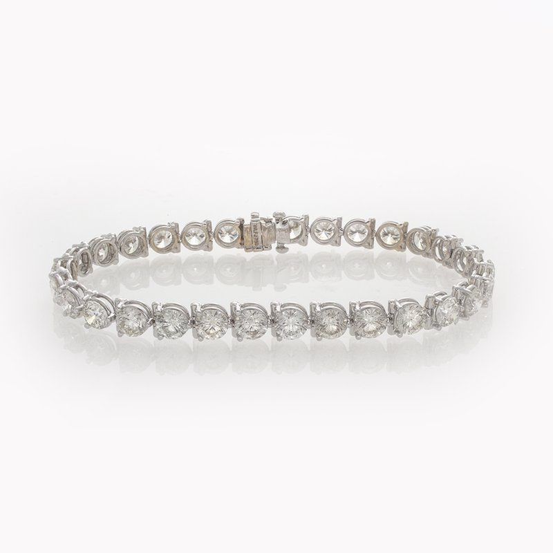 William Levine BRILLIANT CUT TENNIS BRACELET