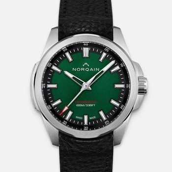 Independence 20 - Black Leather Strap