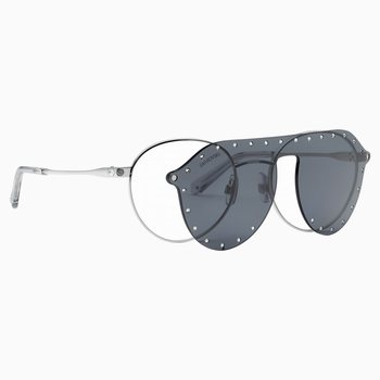 Swarovski Sunglasses with Click-on Mask, SK0275 – H 52016, Gray