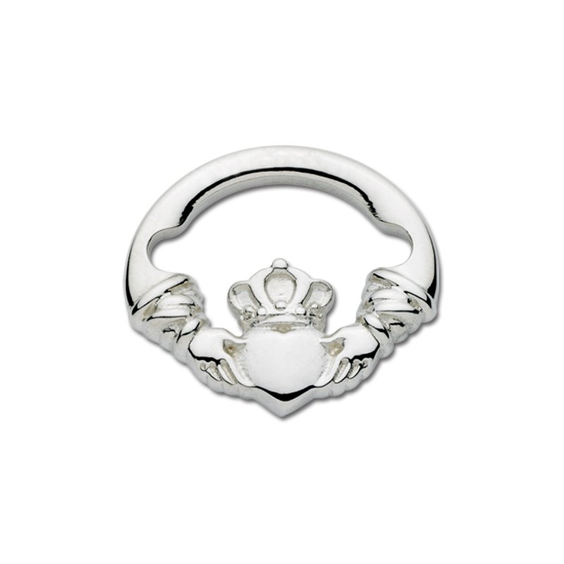 Lestage Sterling Silver Claddagh Large