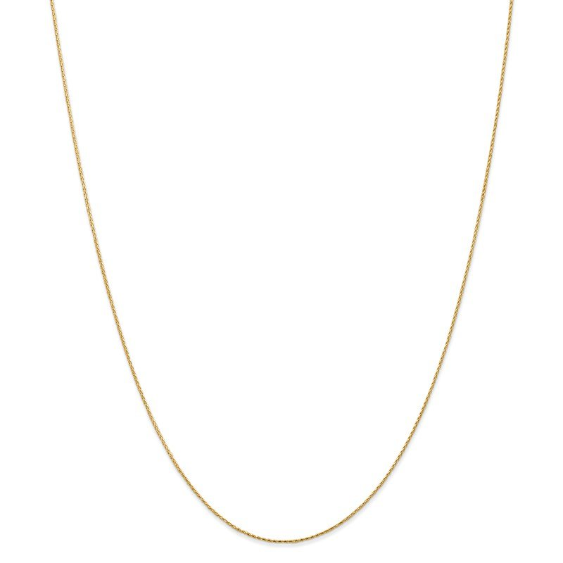 Leslie's Leslie's 14K .8mm D/C Round Wheat Chain