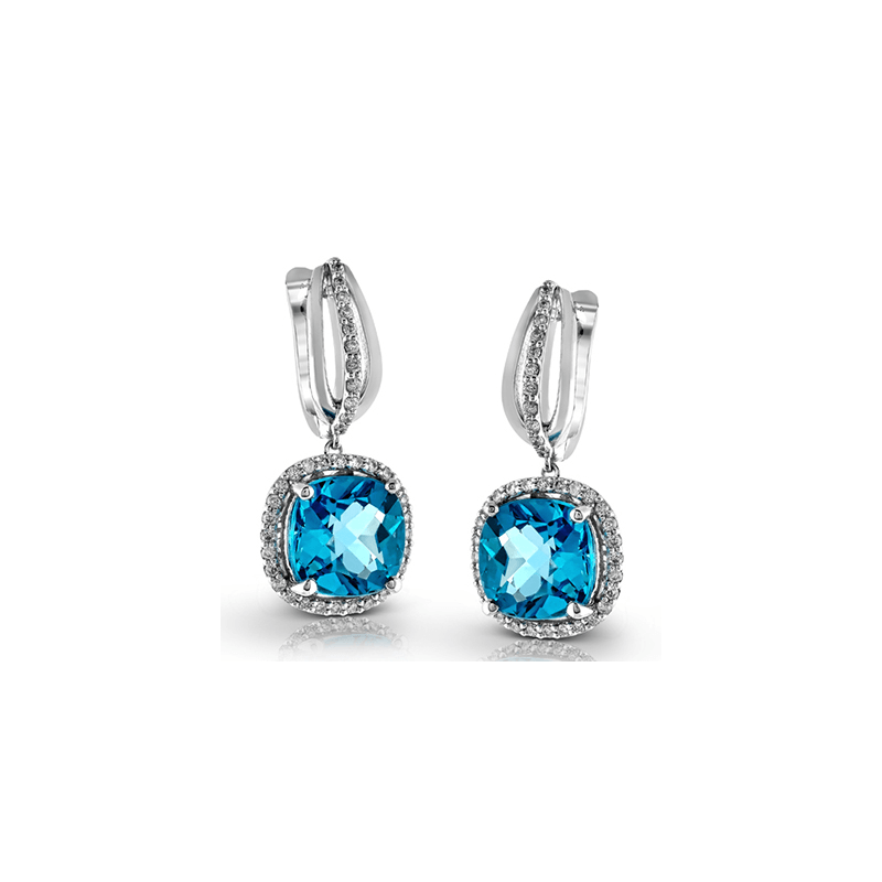 Zeghani ZE397 COLOR EARRING