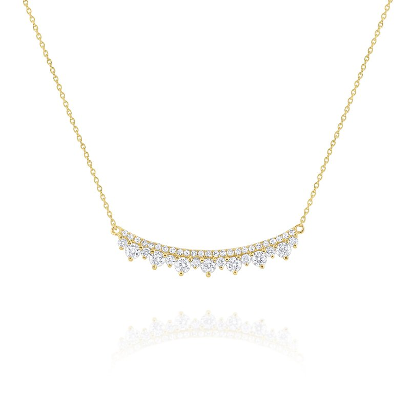 KC Designs Diamond Curve Necklace Set in 14 Kt. Gold