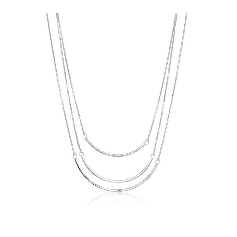 LARUS Jewelry Three Tier Necklace
