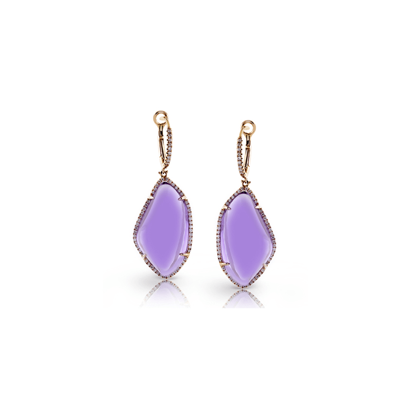 Zeghani ZE398 COLOR EARRING