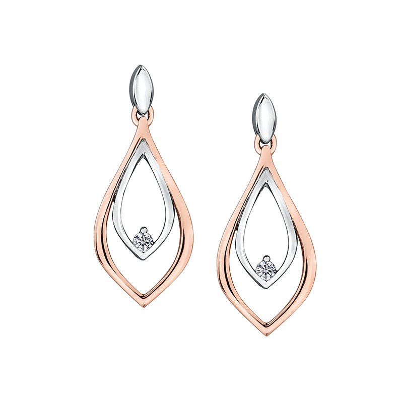 Maple Leaf Diamonds Maple Leaf Diamond Earrings