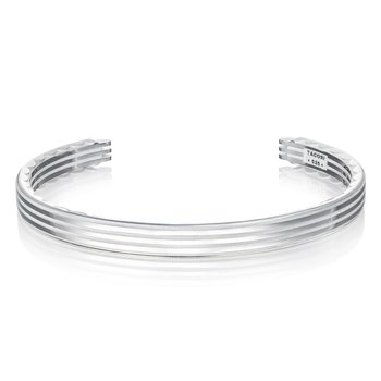 Sleek Racing Lines Cuff