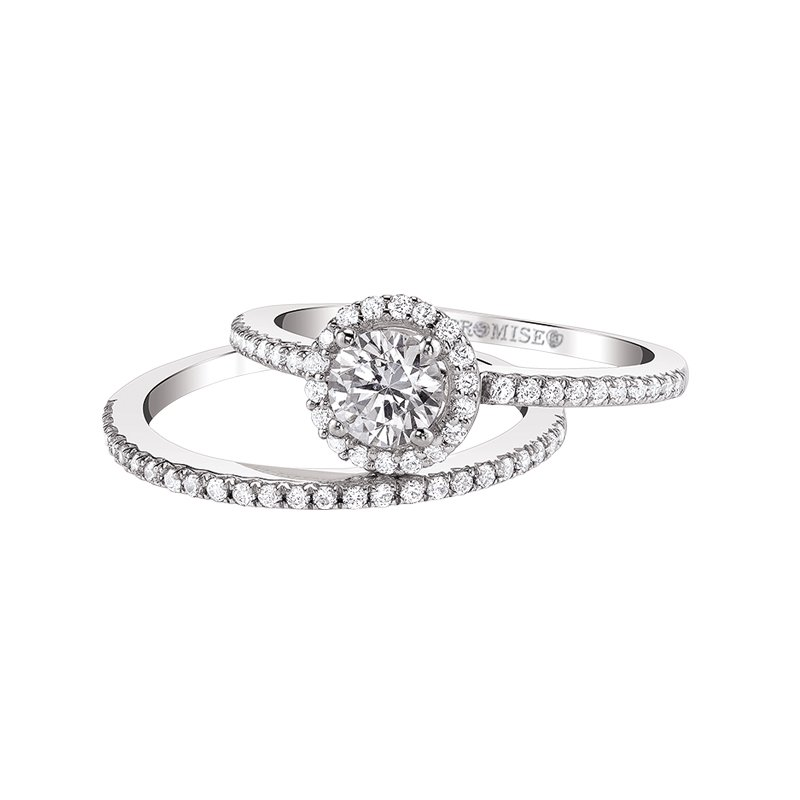 "Love Story Diamonds ""Ellen"" Bridal Set- Promise Collection by Love Story"