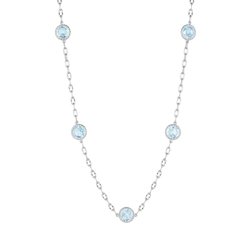 Tacori Fashion Raindrops Necklace featuring Sky Blue Topaz
