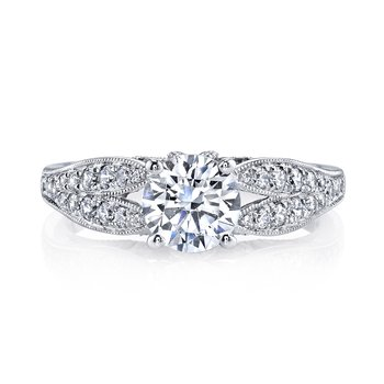 MARS 26003 Diamond Engagement Ring 0.36 Ctw.