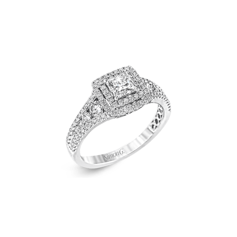 Simon G MR2589 ENGAGEMENT RING