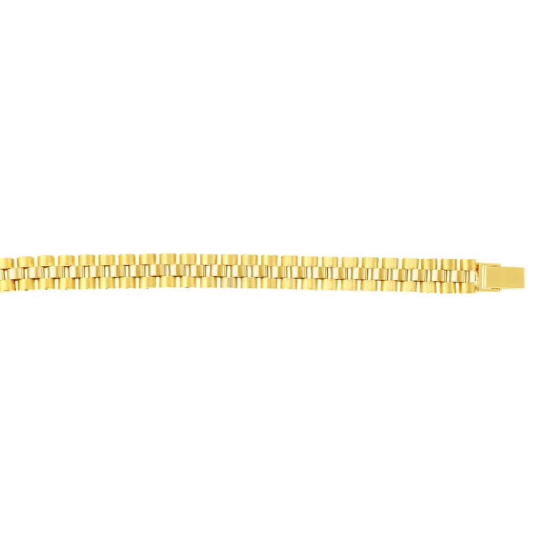 Royal Chain 14K Gold 9.3mm Railroad Link Chain