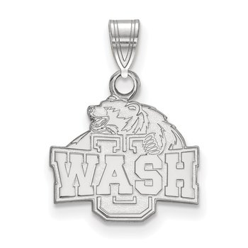 Sterling Silver Washington University in St. Louis NCAA Pendant