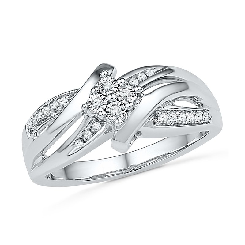 Gifts That Rock .10 ctw Diamond Ring