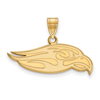 Gold-Plated Sterling Silver Liberty University NCAA Pendant