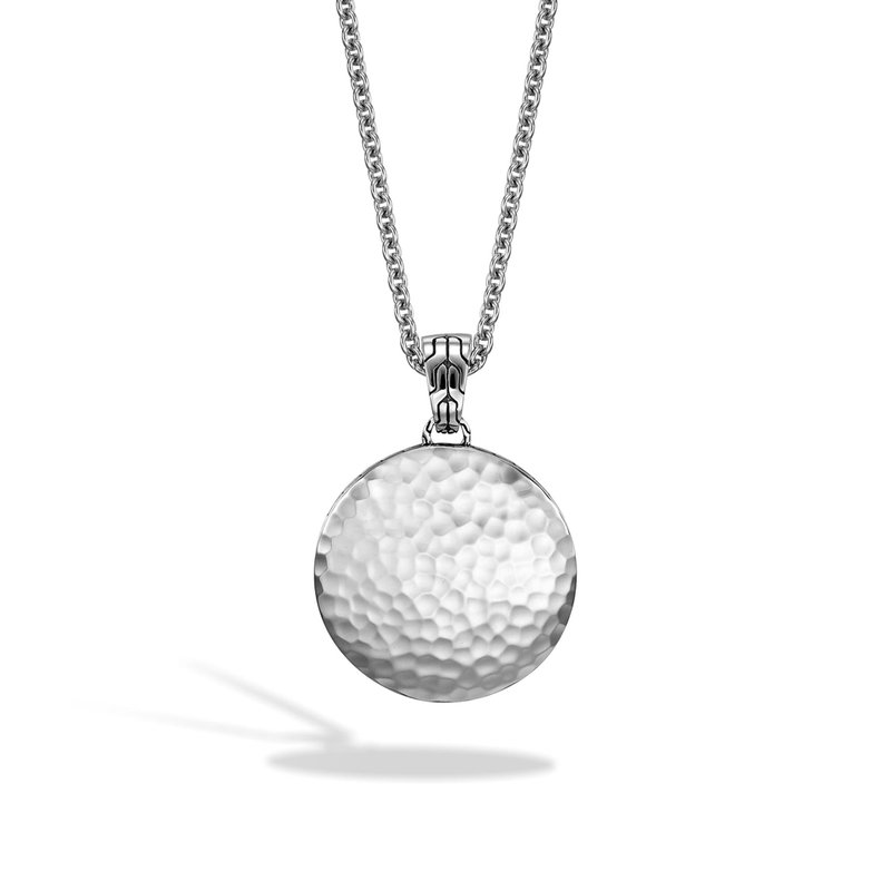 JOHN HARDY Dot Pendant Necklace in Hammered Silver