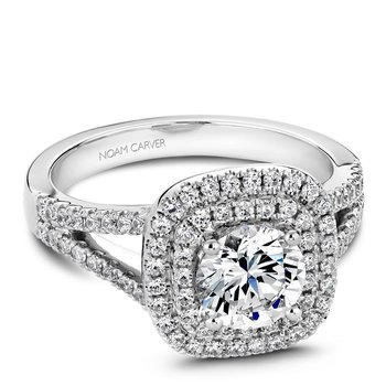 Noam Carver Vintage Engagement Ring B035-01A