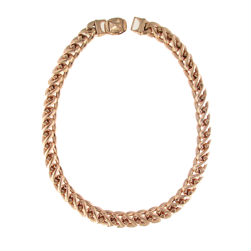 Roberto Coin 18Kt Gold Link Necklace