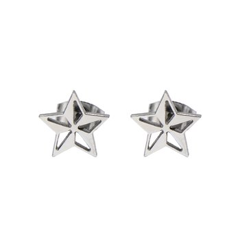 Steel Star Shape Cut Out Stud