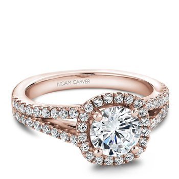 Noam Carver Modern Engagement Ring B015-01RA