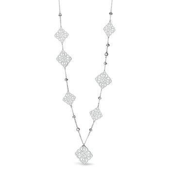 316L stainless steel, crystals and pearls Swarovski® Elements