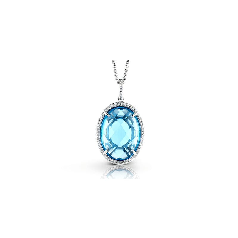 Zeghani ZP646 COLOR PENDANT