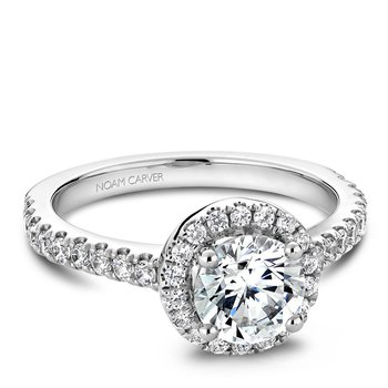 Noam Carver Modern Engagement Ring B029-01A