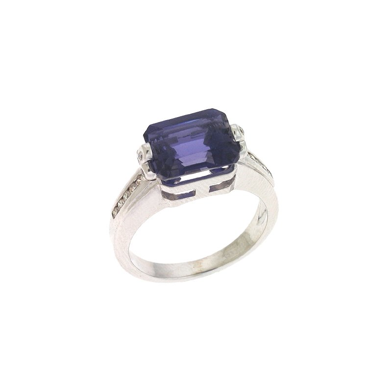 S. Kashi  & Sons Iolite./diamond Ring