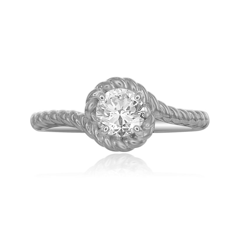 Veer Diamonds BOTTICELLI SOLITAIRE RING