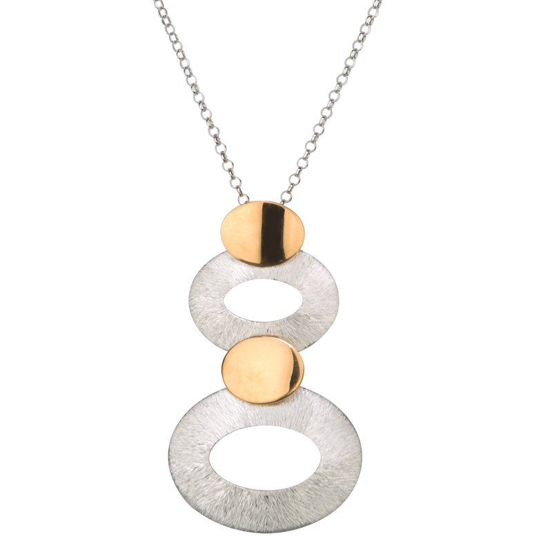 Frederic Duclos Oval Stack Necklace