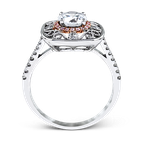 Simon G MR2528 WEDDING SET