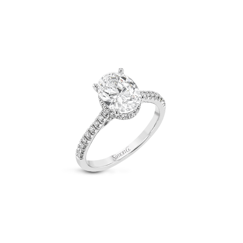 Simon G LR2345 ENGAGEMENT RING