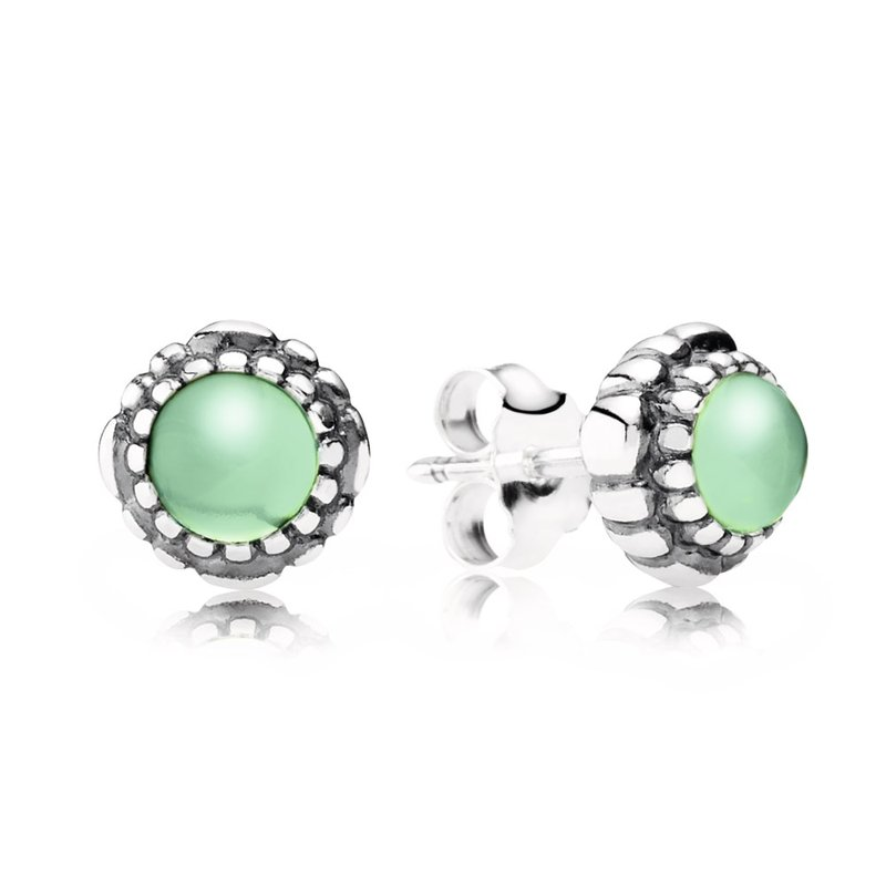 lucido jewelry pandora birthday blooms stud earrings