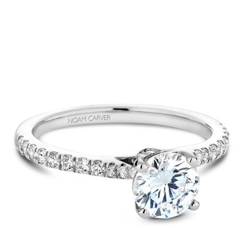 Noam Carver Modern Engagement Ring B142-02A
