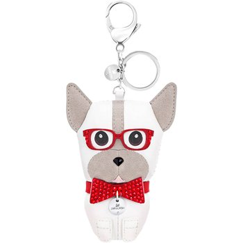 Bruno Bag Charm, Multi-colored, Stainless steel