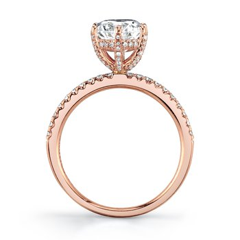 MARS 27155 Engagement Ring, 0.26 Ctw.