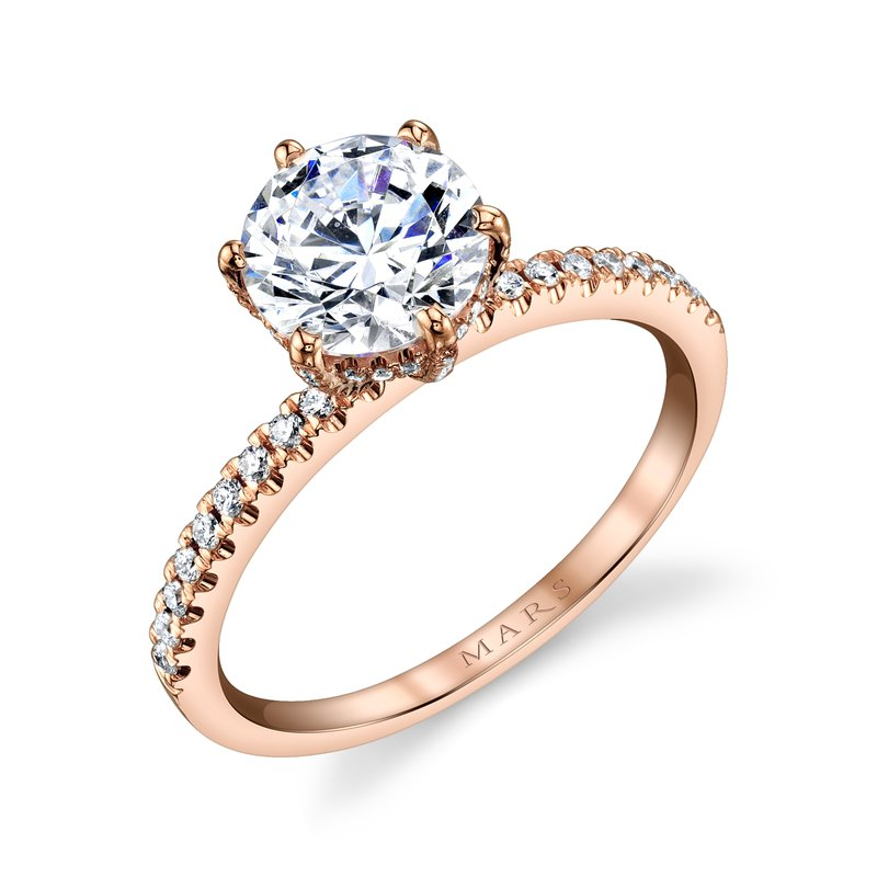 MARS Jewelry - Engagement Ring 27155