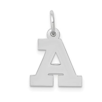 14KW Small Block Letter A Initial Charm