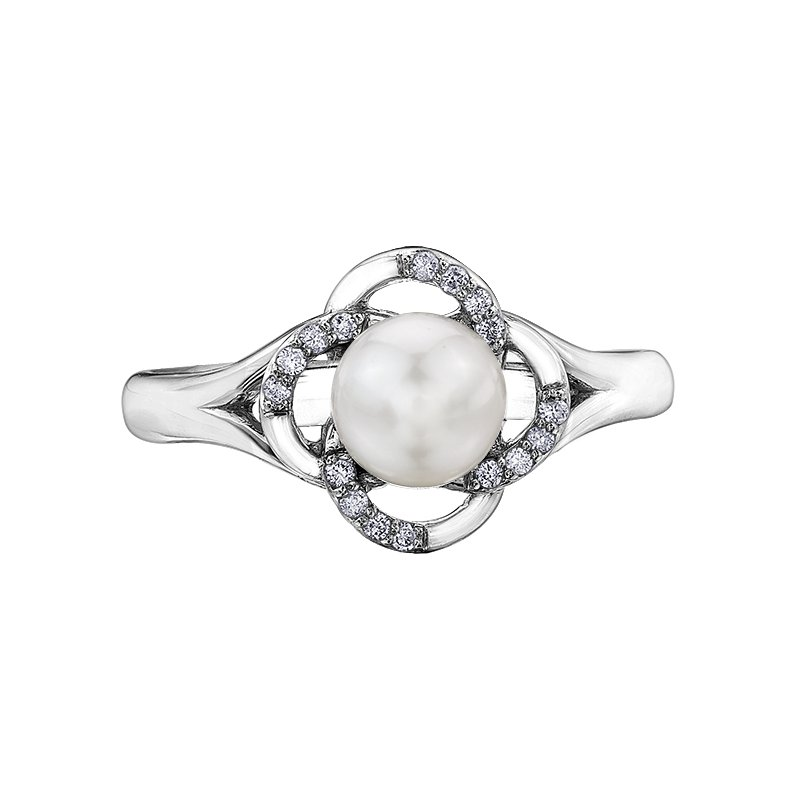 Lasting Treasures™ Pearls Ladies Ring