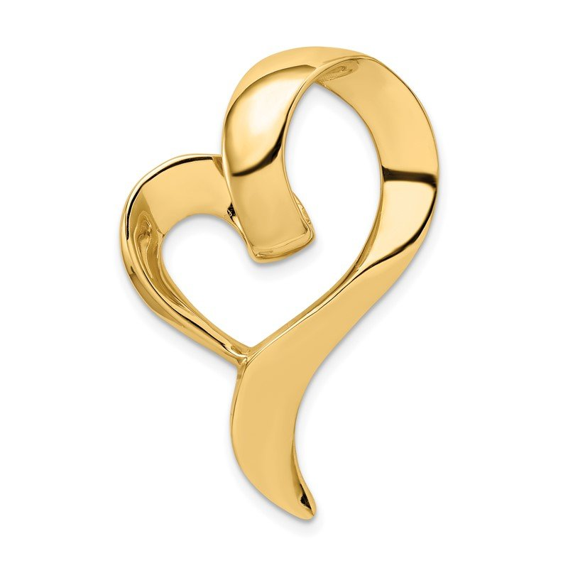 Quality Gold 14K Heart Slide