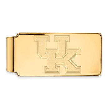 Gold University of Kentucky NCAA Money Clip