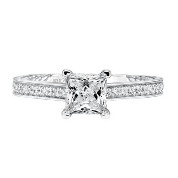 ArtCarved Keira Diamond Engagement Mounting